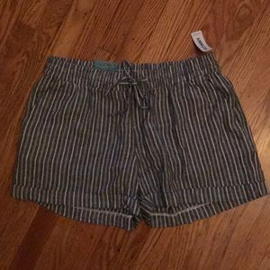 Old Navy Railroad Stripe Shorts